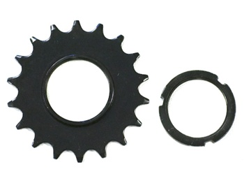 18 T Rear Cog & Lockring