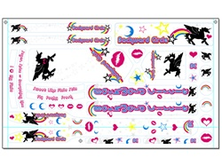 BC Unicorn Bike Decals